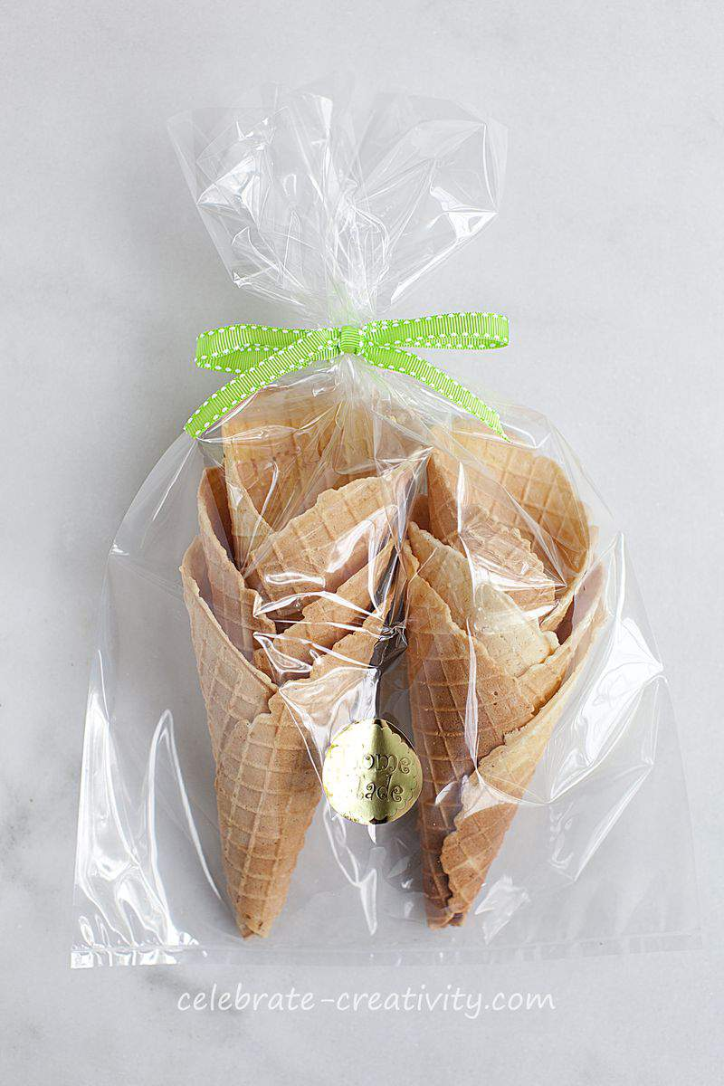Waffle cone packaging