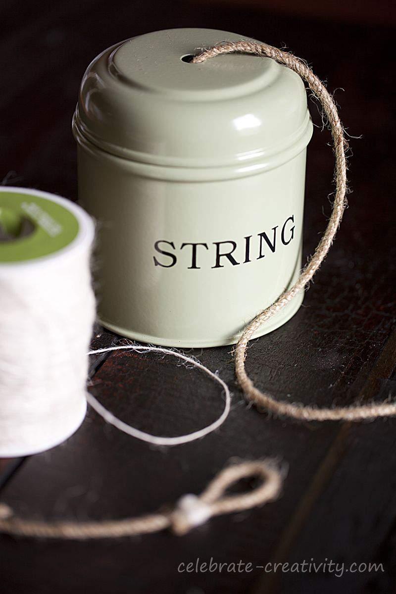 Bunting string