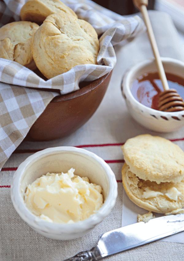 Homemade Butter (And Homemade Whipped Cream Too)