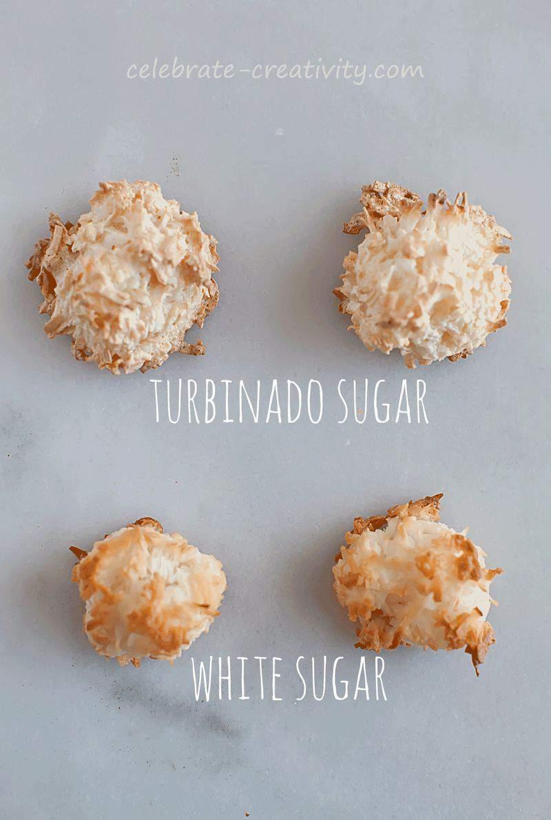 Coconut macaroons sugar comp