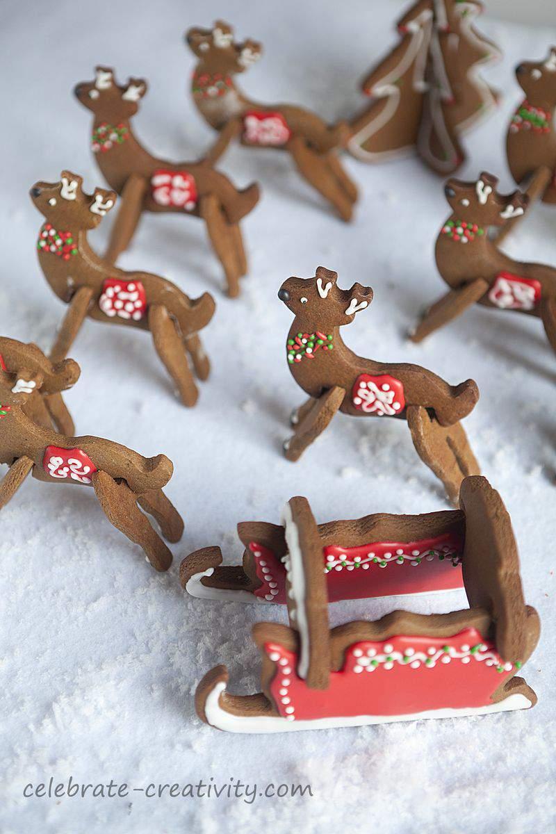 Reindeer cookies8