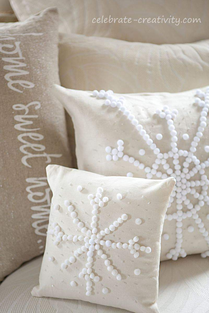 Pillow snowflake10