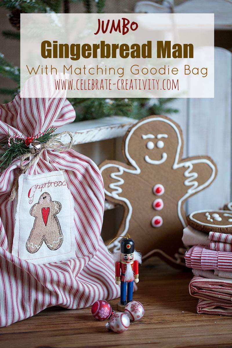 Jumbo gingerbread graphic
