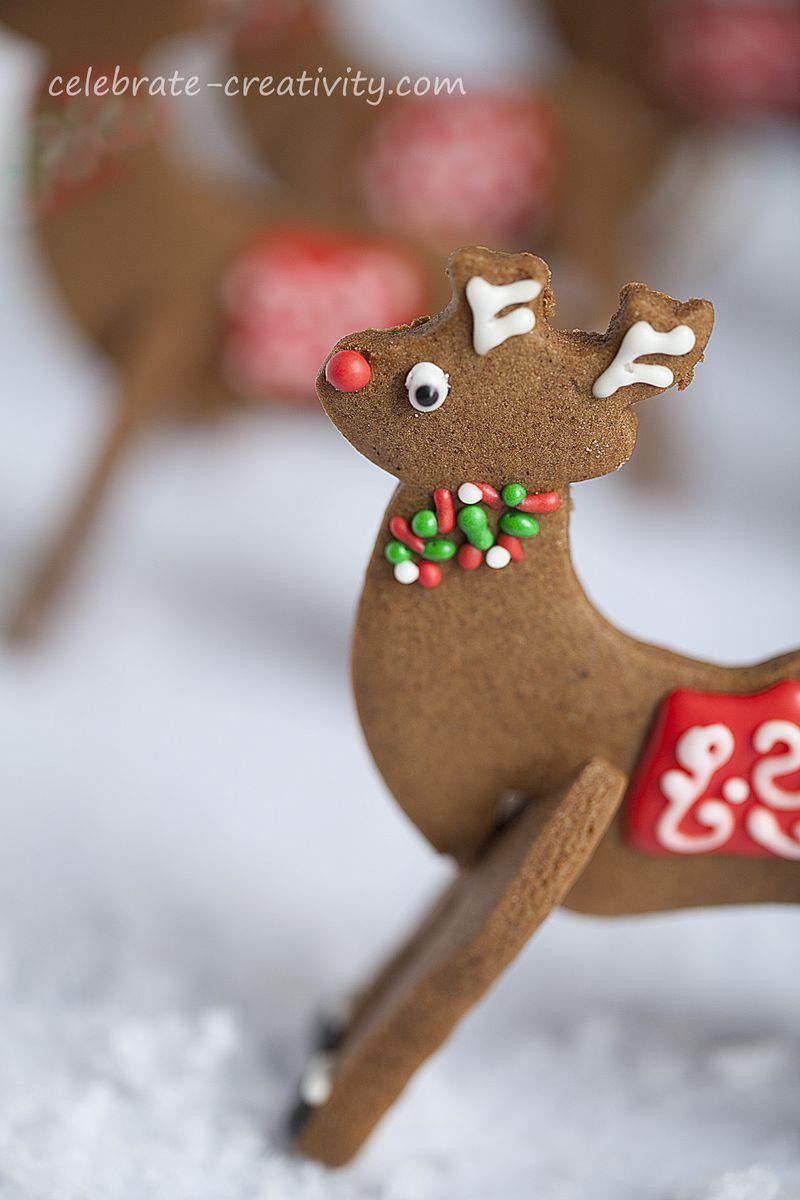 Reindeer cookies solo