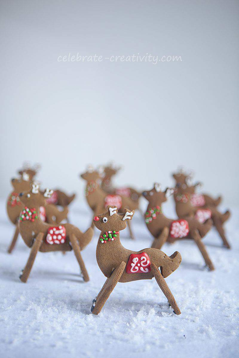 Reindeer cookie9