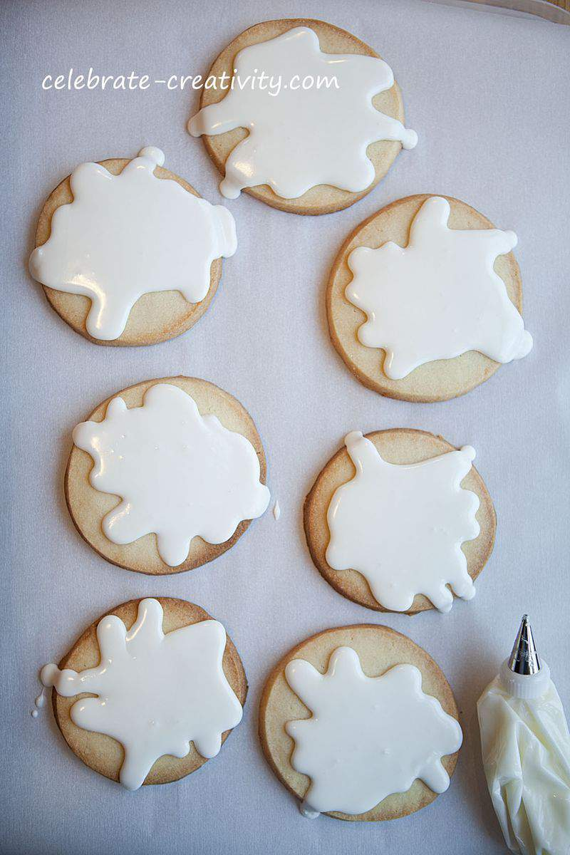 Melted snowman cookies10