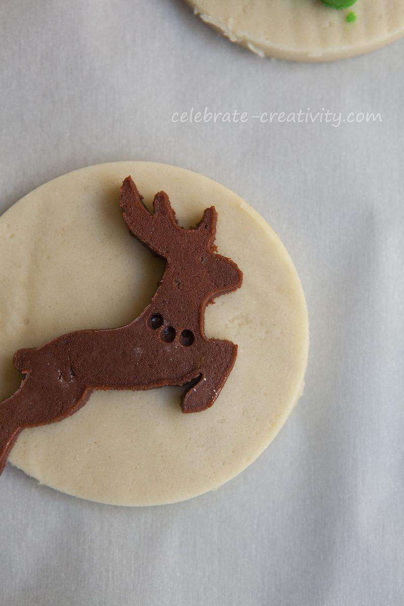 Reindeer sugar cookie6
