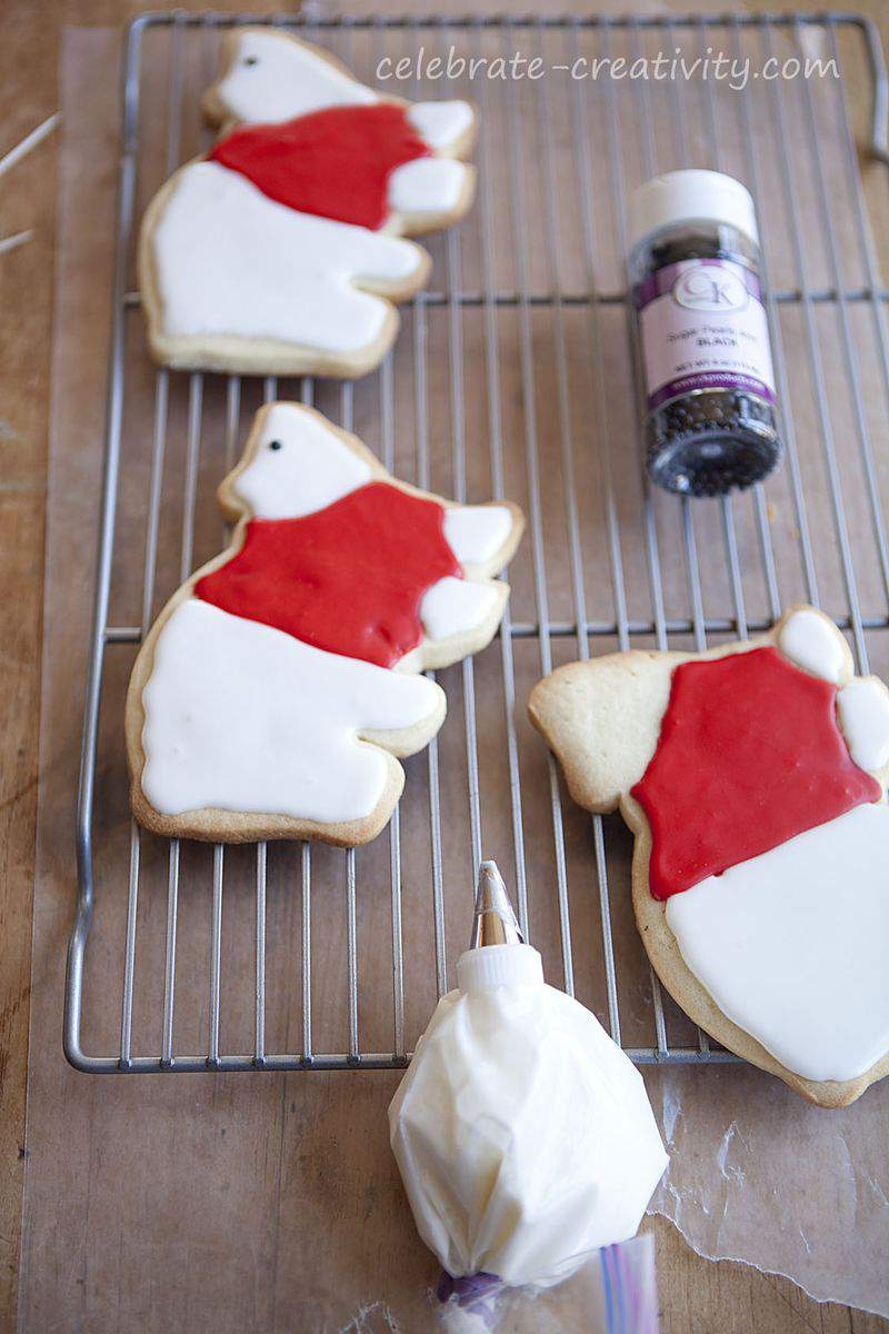 Polar bear cookies2