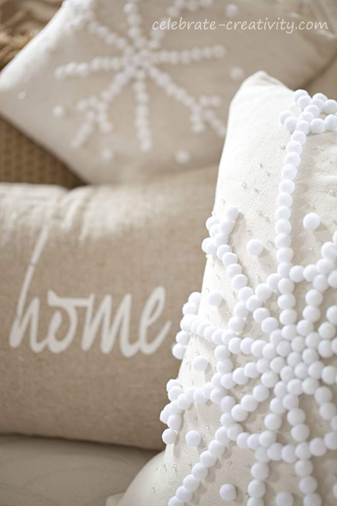pillow snowflake set