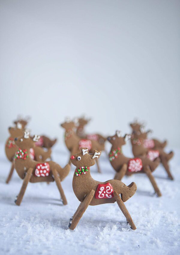 3-D Reindeer Cookies COUNTDOWN TO CHRISTMAS HOLIDAY SERIES  Day 22