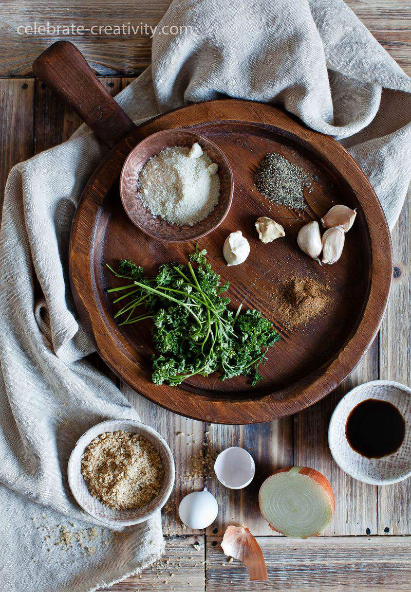 Salmon cakes ingredients