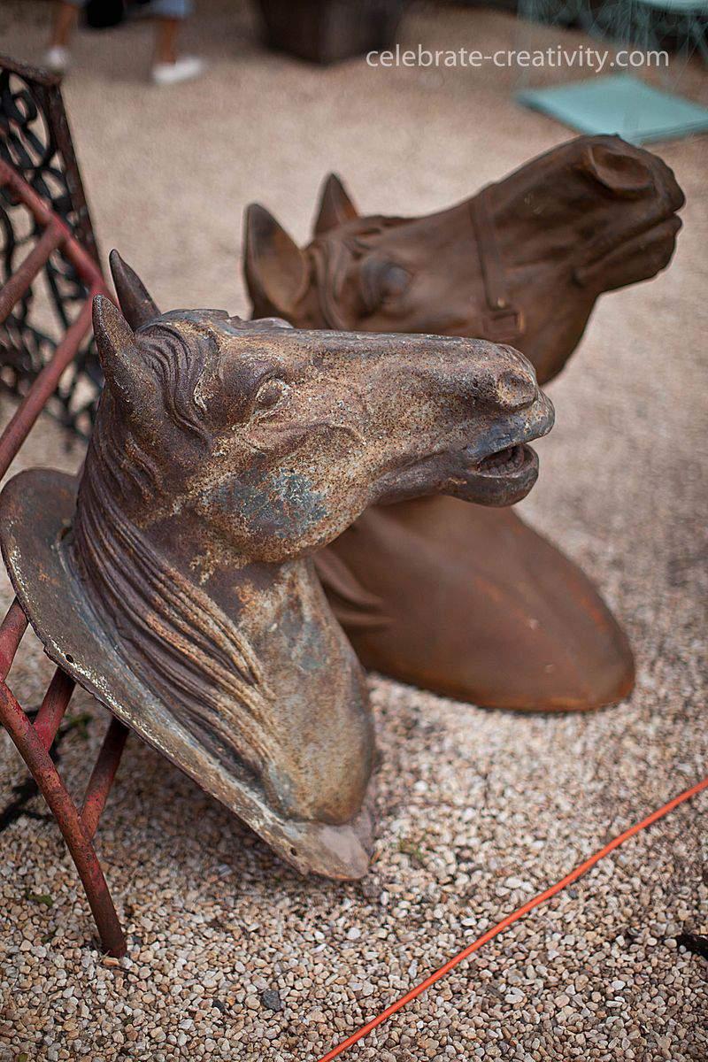 Lucketts fair horse head