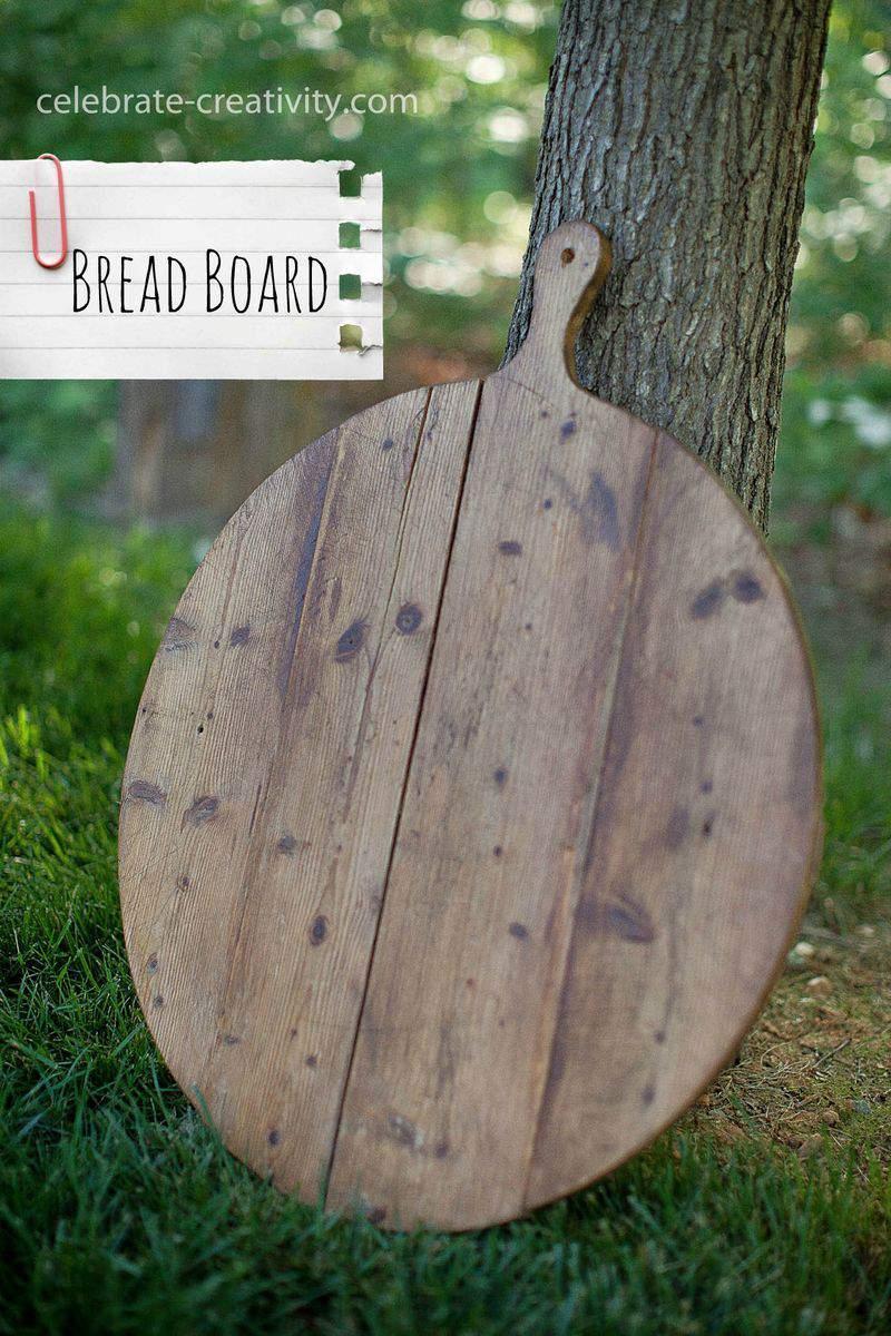 Lucketts bread board