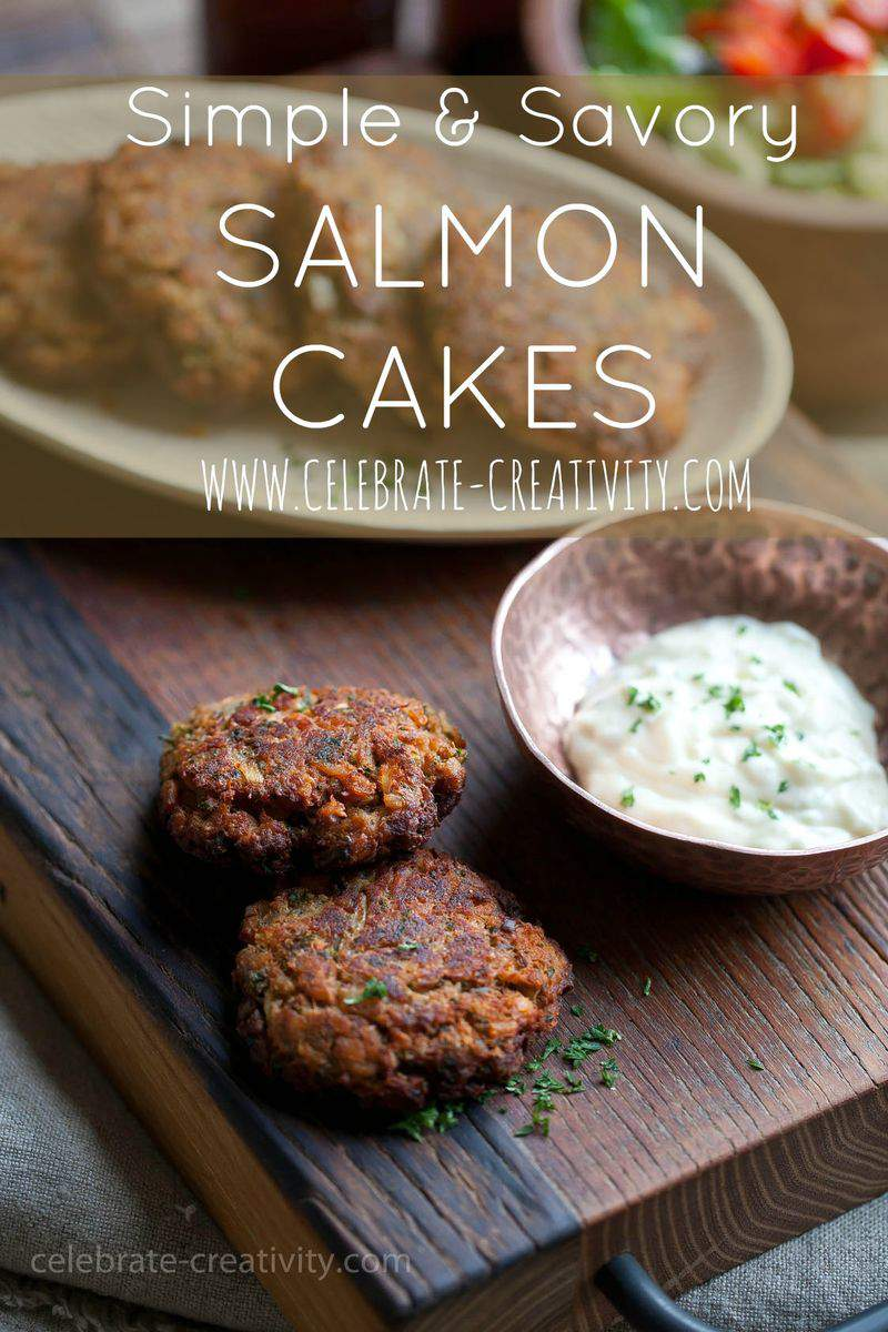 SALMON CAKE GRAPHIC