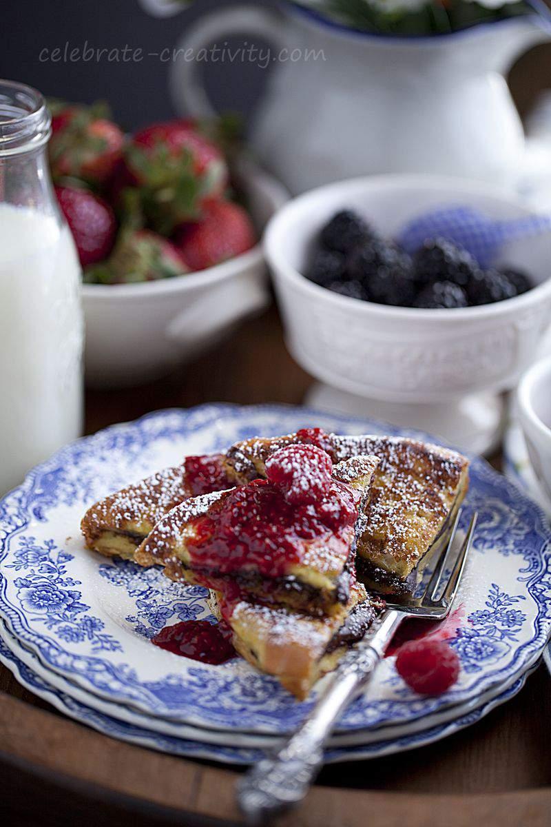 Raspberry brioche2