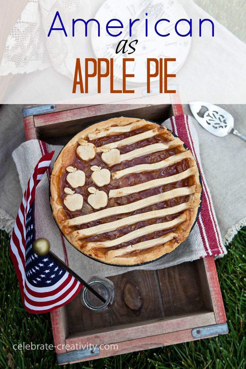 Apple pie graphic