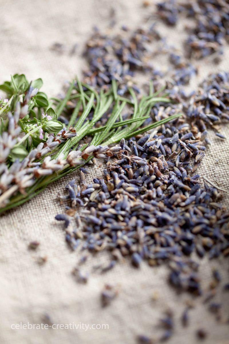 Lavender sachet 3