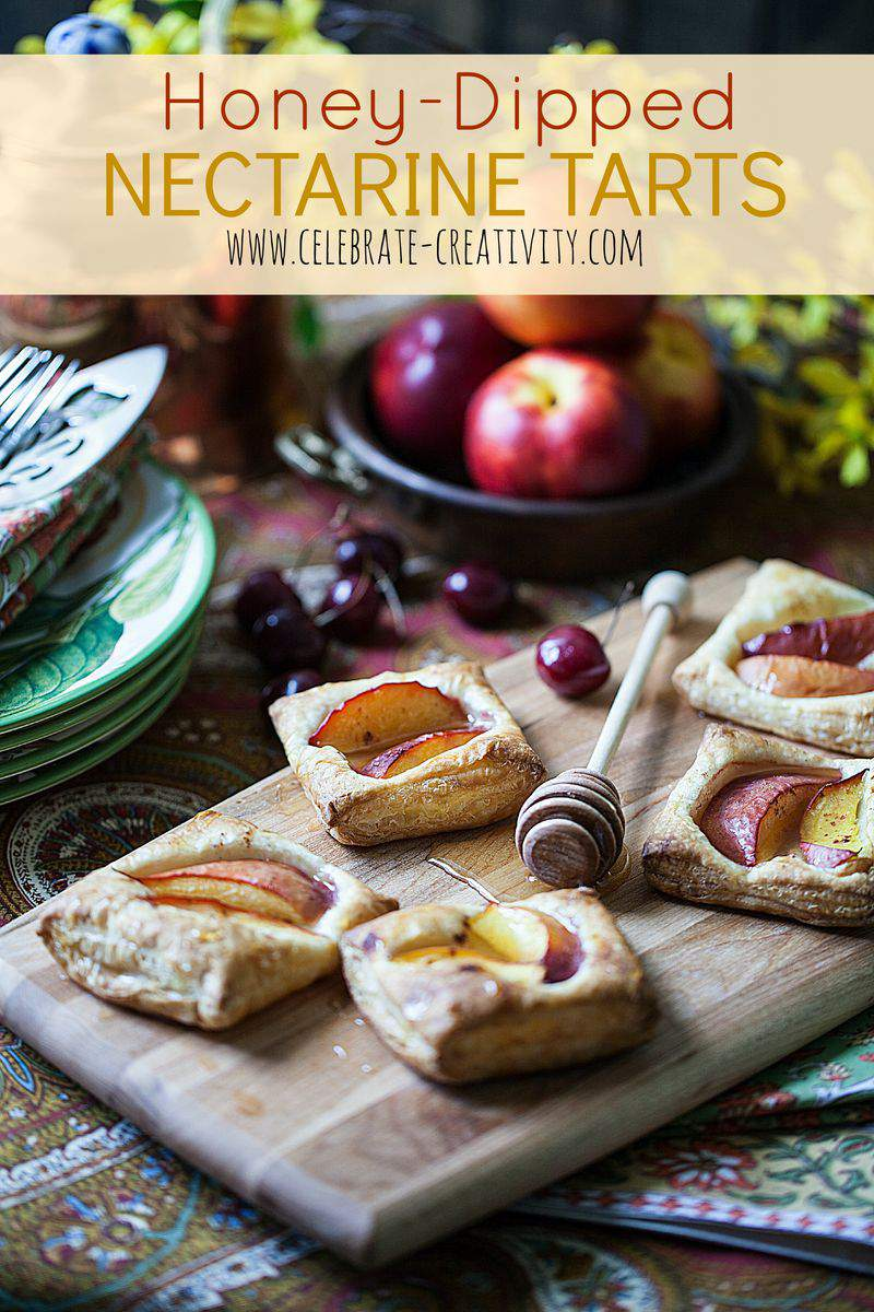 Nectarine tart graphic2