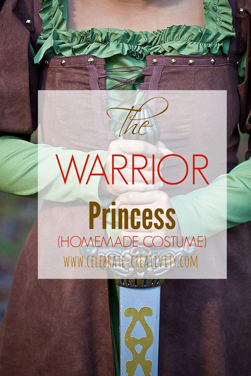 Warrior princess graphic