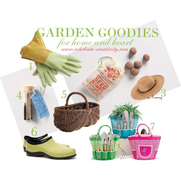 INSPIRING FINDS FOR HOME AND HEART  Garden Goodies