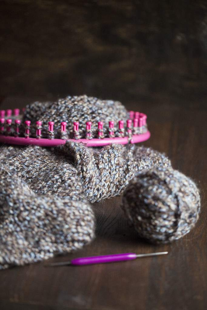 knitting loom project