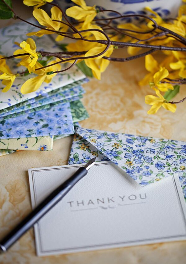 Handcrafted Fabric Envelopes