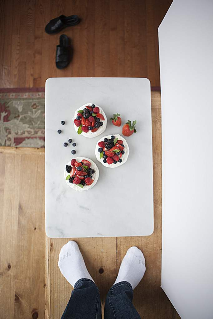 pavlova minis table top