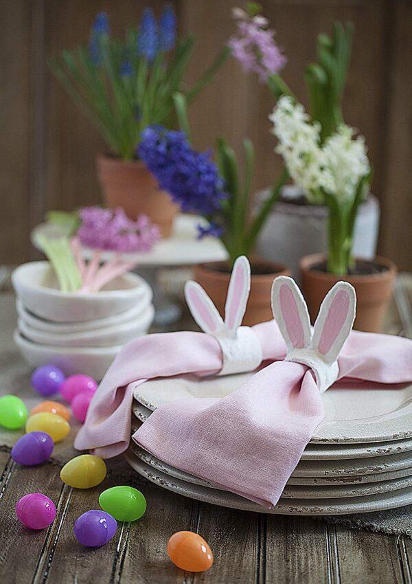 Bunny Ears Napkin Rings