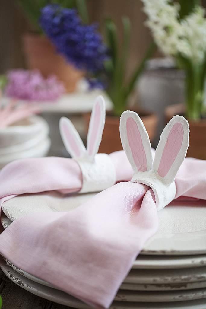 bunny ears plate