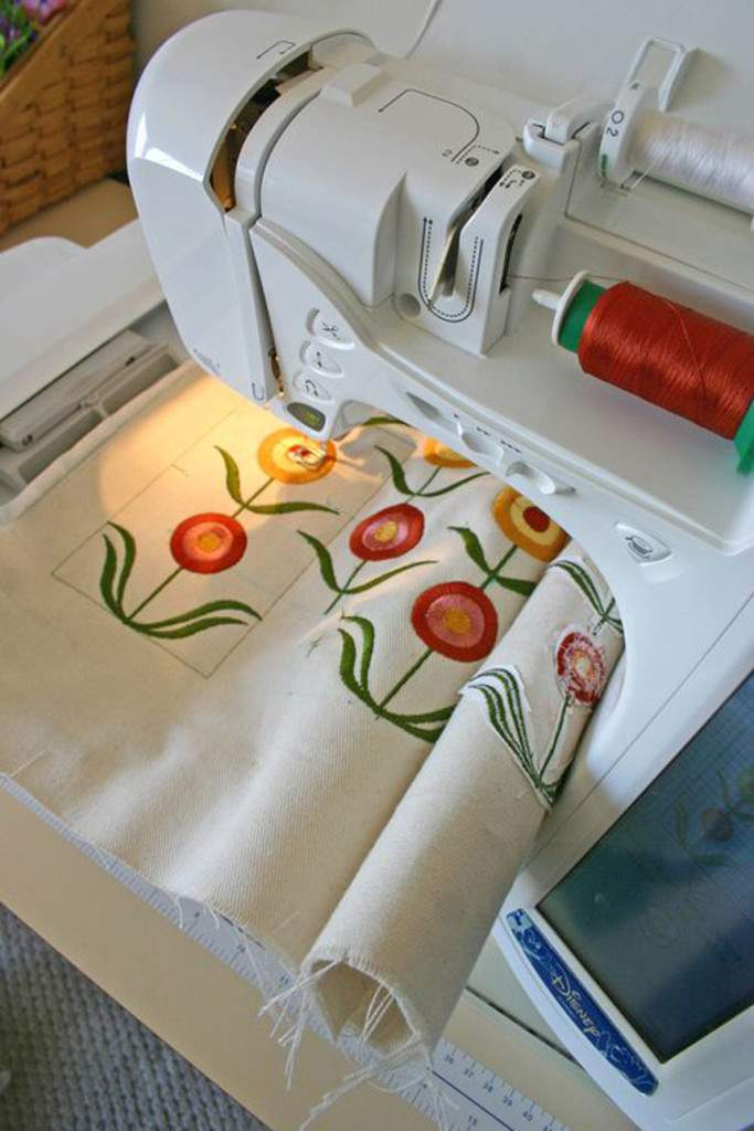 bloom embroidery