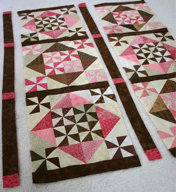 quilt pinwheel pattern