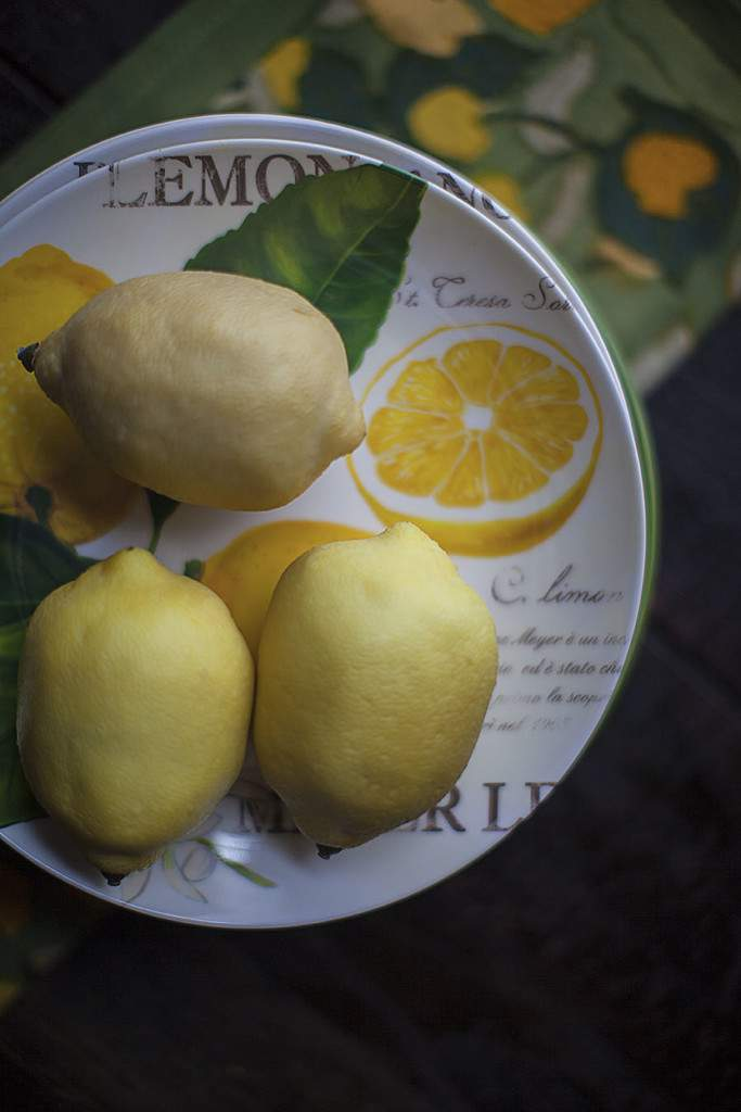 lemon tree plates
