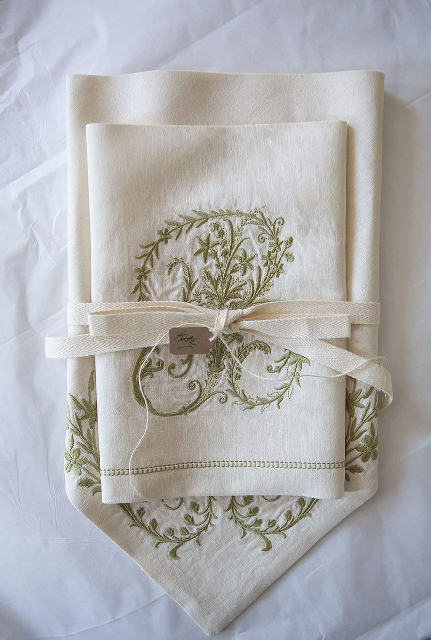 Embroidered Wedding Hankies A Brush With Martha Stewart Magazine Celebrate Creativity