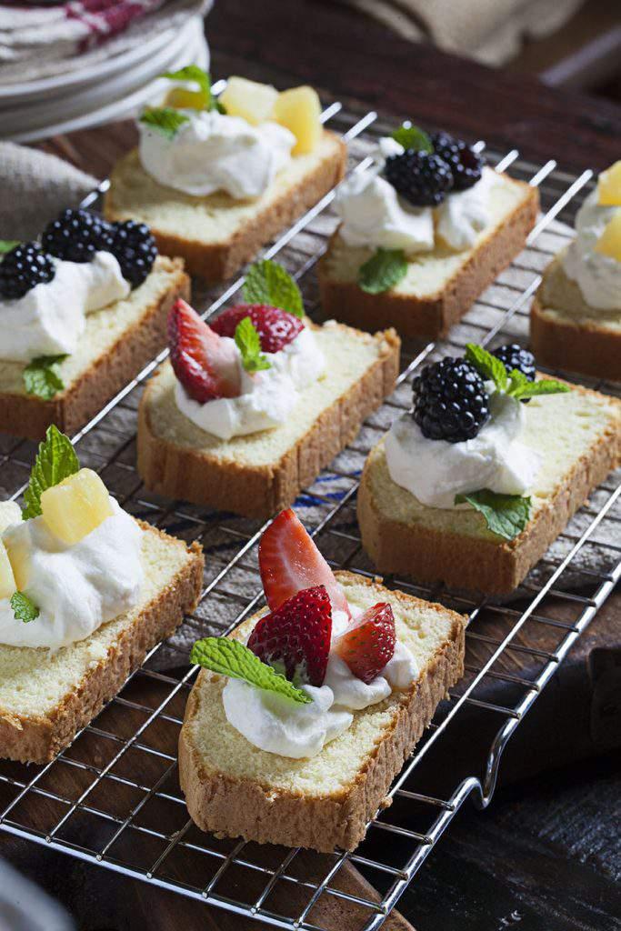 pound cake desserts