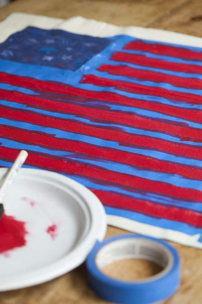 old glory flag stripes