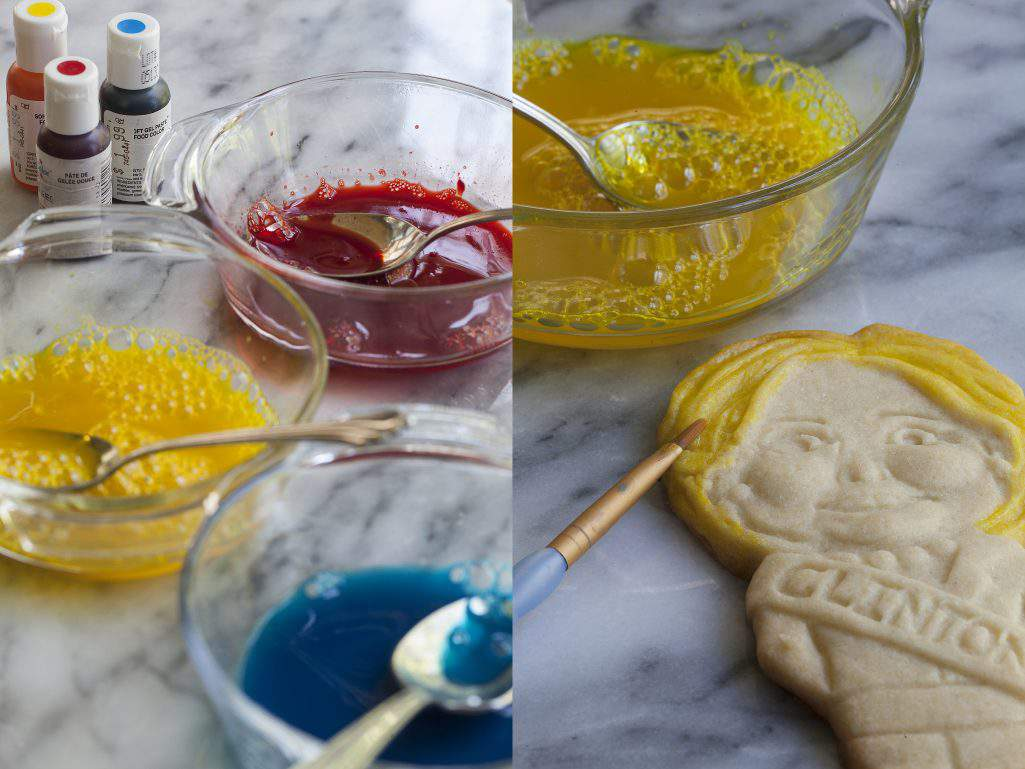 cookie painting