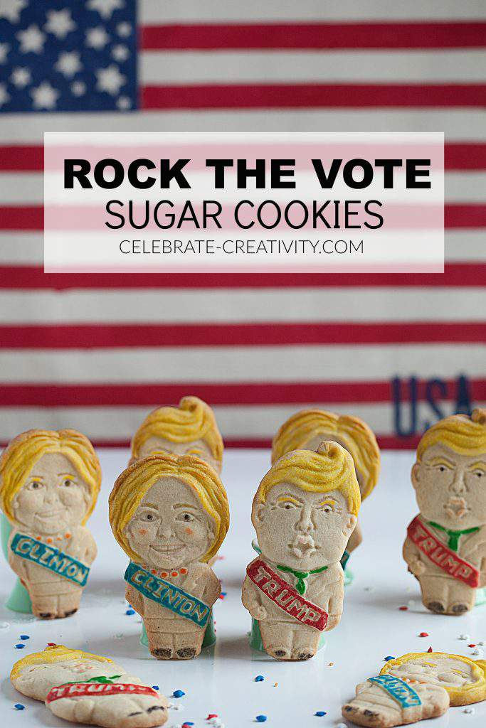 presidential candidate cookies