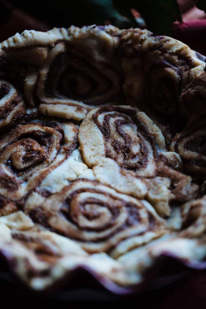 cinnamon bun swirls