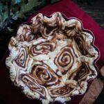 cinnamon bun pie crust