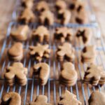 gingerbread mini cookies