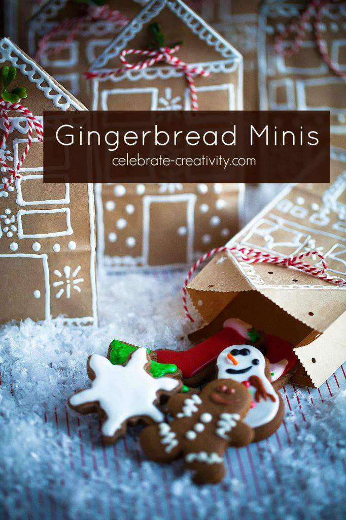 make gingerbread cookie minis