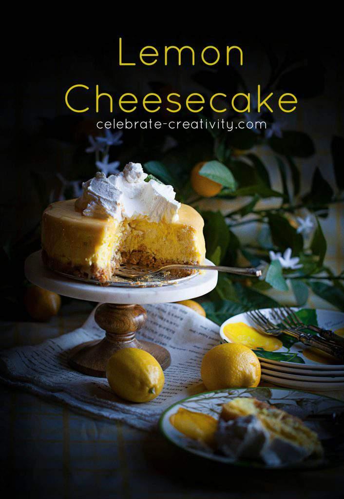 lovely lemon cheesecake