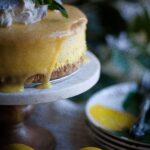 cheesecake and lemons
