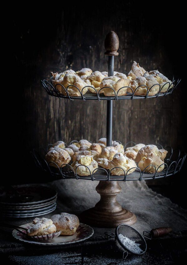 Cream Puff Pastry Bites