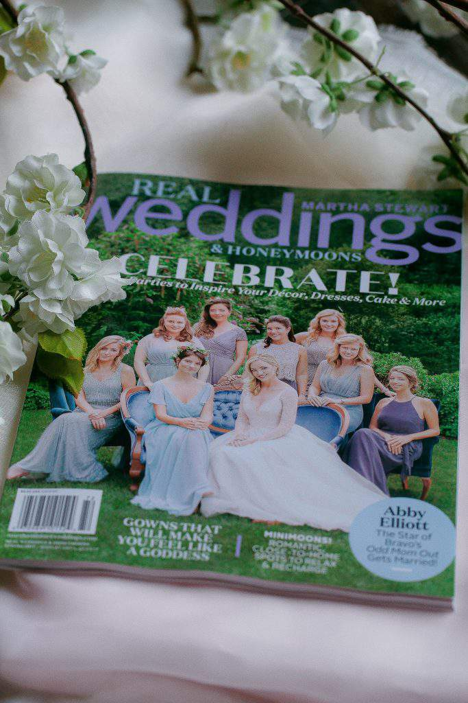 Martha Stewart Real Weddings magazine