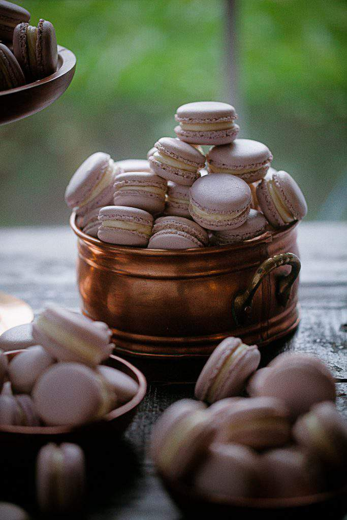 copper pot macarons