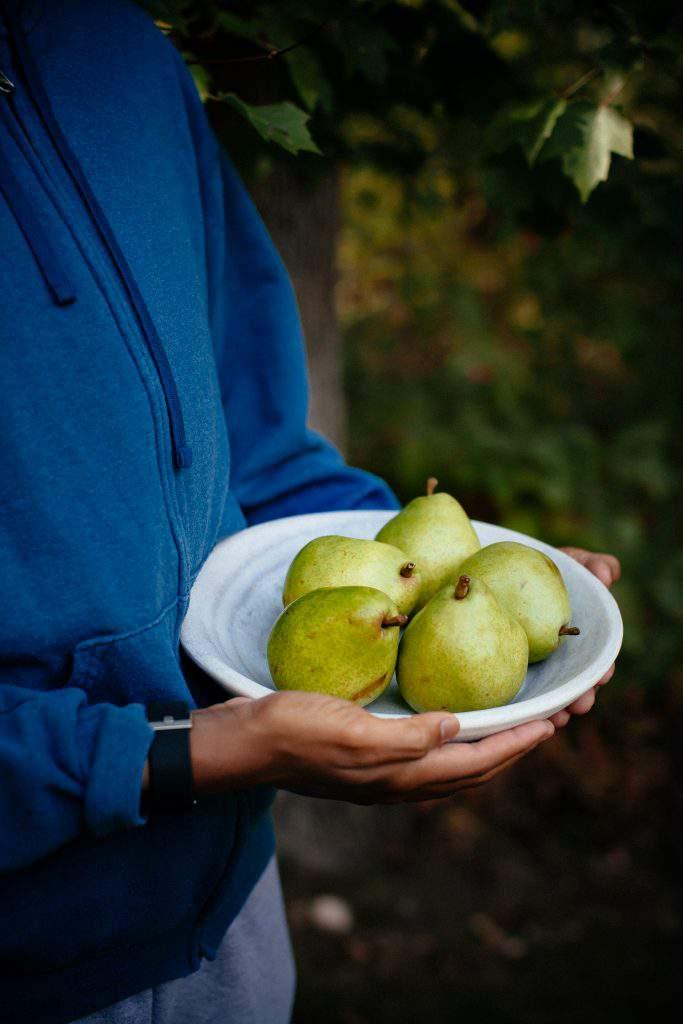 pear platter