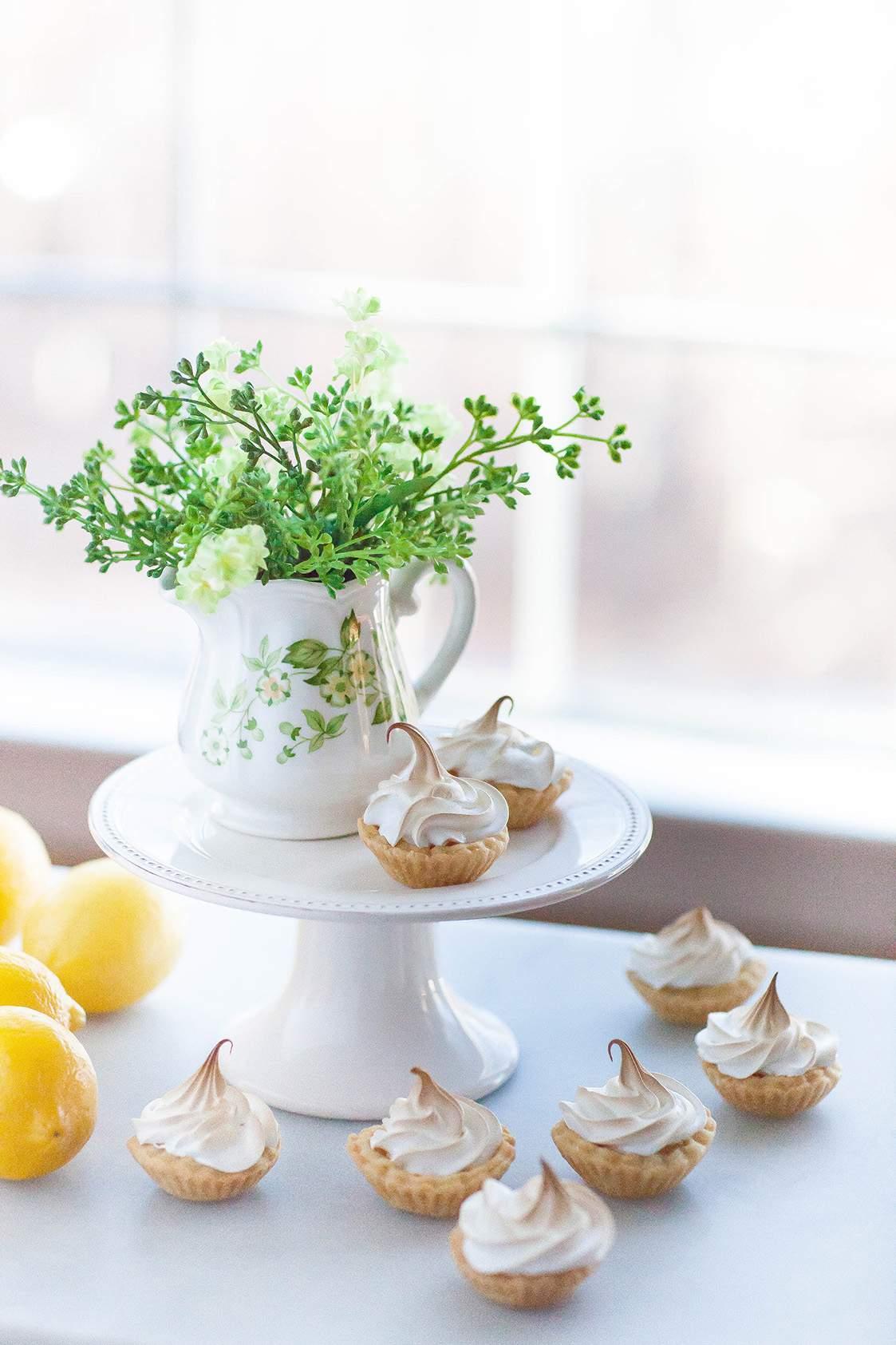 lemon mini tarts