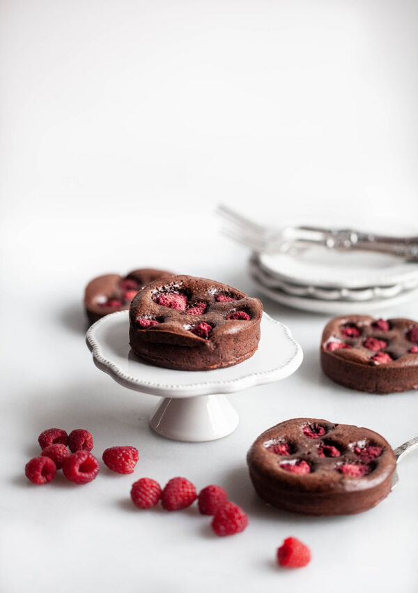 Raspberry-Topped Chocolate Brownies
