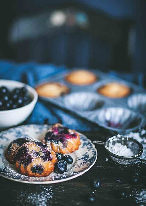 Blueberry-Honey Muffins